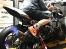 IRC Blipper am Dyno verbaut an Yamaha R1M - durchladen ...