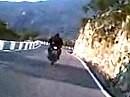 Motorradtour irgendwo in Andalusien, Spanien