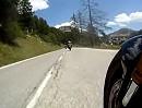 Isola 2000, Frankreich - Schneckeschubsertour 2012 von Isola kommend