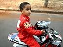 Isser nicht putzig? Luis Guilherme Trombeta de Castro - 4 Jahre