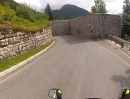 Italy - Slovenia border and way to the Mangart mountain