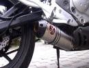 Kawasaki ER-6N mit IXIL Extreme Shorty/ Oval Inox Auspuff