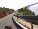 Jadranska Magistrala südlich von Karlobag (Kroatien) Honda CBF 1000