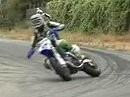 James Stewart Motocross Champ auf Supermoto - der kann auch quer