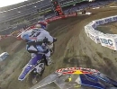 James Stewart onboard 2013 Monster Energy Supercross in Anaheim