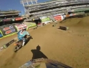 James Stewart Trainingsrunde 2013 Monster Energy Supercross in Oakland