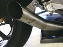 Jardine GP1 Slip on exhaust on Yamaha R6