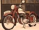 Jawa 250 Bj. 1952 bildschön restauriert - alt aber jung geblieben