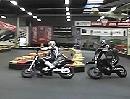 Jedermann Supermoto mit Trackcam.de: Enge Kurven - Stiefel raus & los