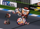 Jerez MotoGP 2018 Highlights Minibikers - Marquez siegt, Dreiercrash dahinter