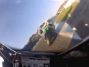 Jerez onboard. 2 Runden Yamaha R1 by Hesi am 31.12.16
