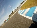 Jerez (Spanien) onboard mit Honda CBR600RR Dunlop GP Racer D211 Slick