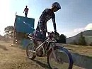 Jerome Bethune: 3,21m senkrechte Wand, mit Motorrad