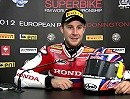 Jonathan Rea Interview SBK-WM Donington 2012 - Race2