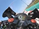 Jonathan Rea onboard Misano Kawasaki Ninja ZX10RR