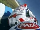 Jonathan Rea (Pata Honda) onboard 2013 SBK-Test Phillip Island