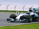 Jorge Lorenzo im MERCEDES AMG PETRONAS F1 W05 Hybrid