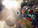Jorge Lorenzo: Leichte Verbrennung bei Titelfeier 2015 in Mallorca