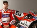 Jorge Lorenzo spricht über seine Ducati Saison 2017