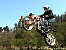 Julien Dupont - Trial Stuntrider - in Draculas Schloß (Transylvanien)