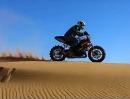 Julien Welsch Sportbike Desert Ride - es gibt keinen falschen Untergrund, nur falsche Bereifung