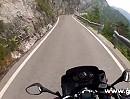 Kaiserjägerstrasse (Trentino, Italien) gemütlich befahren mit Yamaha TDM 900