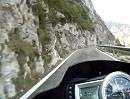 Kaiserjägerstraße von Levico Terme kommend Motorradtour t5net Alpen Race Days 2011