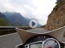 Kanton Wallis von Turtmann nach Ergisch Triumph Street Triple