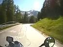 Karerpass (Passo di Costalunga) Dolomiten Italien mit BMW R 1200 GS