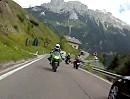 Karerpass (Passo di Costalunga) Dolomiten Italien - Von Vigo di Fassa nach Costalunga