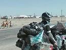Kasachstan Motorrad Weltreise mit Timetoride