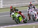 Katar SBK-WM 2014 Race1 Highlights Guintoli hält WM offen