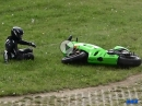 "Kawa Crash Nürburgring Nordschleife. 'Kurve ausgegangen"" am Adenauer Forst"