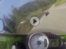 Warth-Schröcken nach Steeg, Kawa ZX-6R artgerecht bewegt | Jagdgeschwader Bodensee