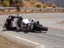 Kawasaki 636 Crash - Hinterradrutscher, aber nicht zu schnell - Snake Schicksal