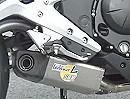 Kawasaki ER-6N i.e. 2012 Auspuffanlage LeoVince SBK Underbody