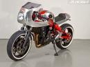 Kawasaki ER-6N Radikalumbau auf Lachgas Louis Bike Special