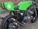 Kawasaki H1 mit John Caffery Vendetta Rahmen bildschöner Zweitakter