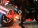Kawasaki H2 mit Dauervollgas gemeuchelt = Vollhonk