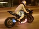 Kawasaki H2R - schonend einfahren - Krümmerglühen für ein langes Leben