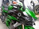 Kawasaki H2 SX - Jens holt seine neue Reiserakete ab