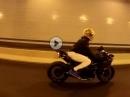 Kawasaki H2 Tunnel-Terror - Kompressor Sound im Rohr