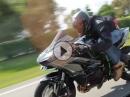Kawasaki H2 vs. R1M vs. Supra vs. Turbo ZX-14R - Turbo rules!