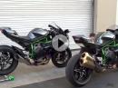 Kawasaki H2R vs. Kawa H2 - STVO vs. geil - Soundcheck