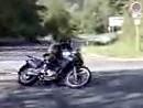 Kawasaki KLE500 artgerecht bewegt
