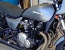 Kawasaki KZ1000P (1986) Mad Max Build by Bare Bone Rides