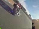 Kawasaki Ninja 250 kocht reihenweise Gebückte in Laguna Seca ab! Peinlich geil!