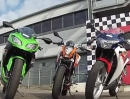 Kawasaki Ninja 300 vs. KTM 200 Duke vs.Honda CBR250R