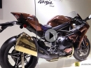 Kawasaki Ninja H2 (2016) in Deep Pink Gold - Tokyo Motor Show