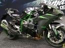 Kawasaki Ninja H2 Carbon MJ19 Walkaround Debut AIMExpo Las Vegas